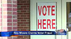 Roy Moore Claims Voter Fraud [Video]