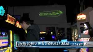 Gaming disorder to be considered a disease [Video]