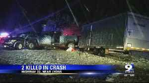 Two killed in Highway 22 wreck [Video]