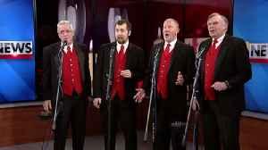 VIDEO Barbershop quartet kicks off day of singing Valentines [Video]