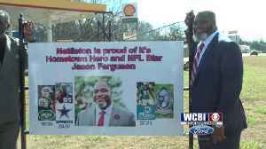 Nettleton's Jason Ferguson Honored with Commemorative Sign [Video]
