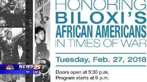 Black History program in Biloxi [Video]