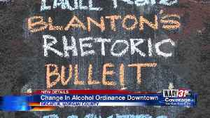 Alcohol ordinance [Video]