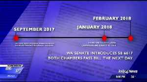 Senate bill makes some information public, but exempts state [Video]
