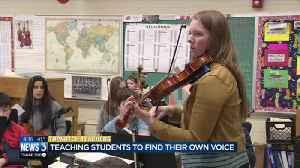 Topnotch teacher makes sure students find their voice [Video]