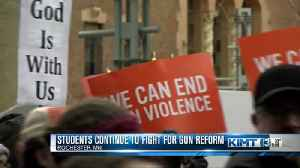 Students vow to keep working toward gun control [Video]