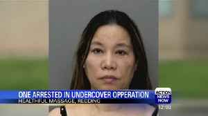 Redding Massage Parlor Busted for Alleged Prostitution [Video]