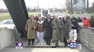 Dozens march to remember Martin Luther King Jr. [Video]