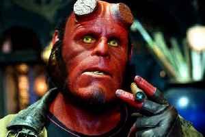 Hellboy movie (2004)  Ron Perlman, John Hurt, Selma Blair [Video]