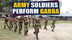 Watch: Army soldiers perform Garba, video goes viral | OneIndia News [Video]