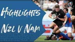 Highlights: New Zealand v Namibia - Rugby World Cup 2019 [Video]