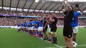 All Blacks and Namibia bow to crowd [Video]