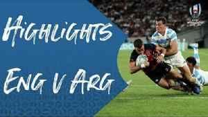 Extended Highlights: England v Argentina [Video]