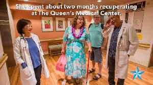 Suicide survivor thanks staff at Queen's Medical Center [Video]