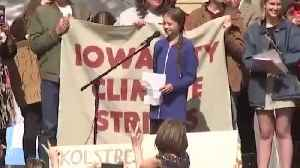 Greta Thunberg lectures Iowans about climate change [Video]