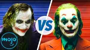 Best Joker: Heath Ledger vs. Joaquin Phoenix [Video]