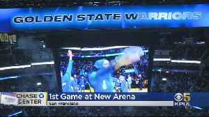 Warriors Play First Game At New Chase Center Arena [Video]