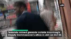 10 injured in grenade attack outside Deputy Commissioner Office in JK Anantnag [Video]
