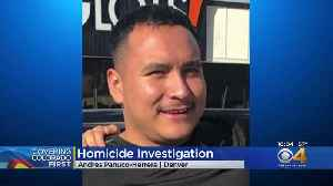 Denver Police Search For Answers In Homicide Of Andres Panuco-Herrera [Video]