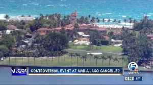 Controversial event at Mar-a-Lago canceled [Video]