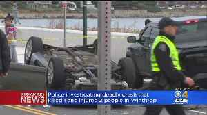 1 Dead, 2 Seriously Injured After Crash In Winthrop [Video]