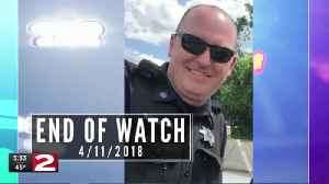 Community mourns the loss of Officer Kevin Crossley [Video]