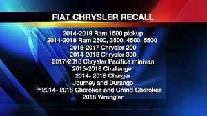 Nearly 5 Million Fiat Chrysler Vehicles Recalled [Video]