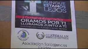 Guatemaltecos se unen para ayudar a damnificados [Video]