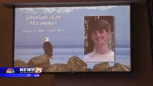 Funeral services for Jonathan McCommon [Video]
