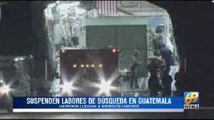 Equipos de rescates suspendieron labores y famliares regresan por familiares [Video]