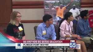 Big Brothers/Big Sisters holds graduation party [Video]