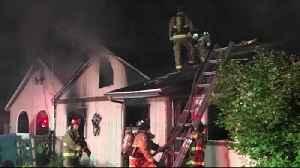 Fire damages Cottage Grove home, displaces two families [Video]