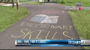 Family bike ride to support area youth [Video]