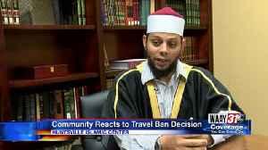 Travel ban reaction [Video]