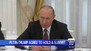 Putin and Trump agree to hold a summit [Video]