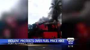 News video: Violent protests over fuel price hike