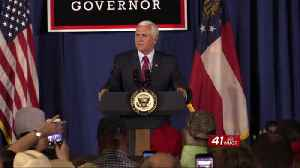 Vice President Pence set to attend rally in Macon supporting Kemp for Governor [Video]