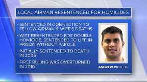 Former Wisconsin airman resentenced in double homicide case [Video]