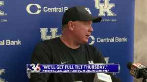 'We'll get full tilt Thursday.' [Video]