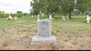Woman Upset about Late Father's Damaged Headstone [Video]