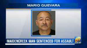 VIDEO: Maidencreek man sentenced for sexually assaulting coworker [Video]