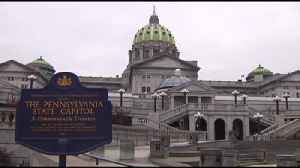 VIDEO: Catholic church sex abuse survivors speak in Harrisburg [Video]