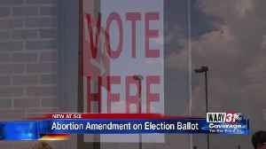 Abortion Amendment on Election Ballot [Video]