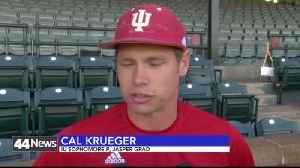 iu baseball talks about coach mercer [Video]