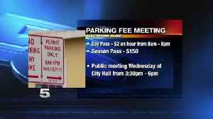 City of South Padre Island to Hold Public Meeting about Parking Fees [Video]