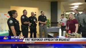 First Responder Appreciation Breakfast in Long Beach [Video]