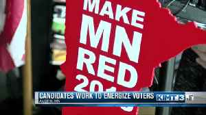 Candidates work to energize voters [Video]