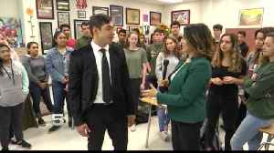 Student of the Week: Javier Lopez [Video]