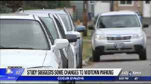 Study suggests some changes to Midtown parking [Video]