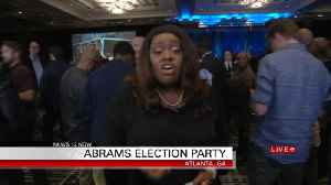 Stacey Abrams Headquarters [Video]